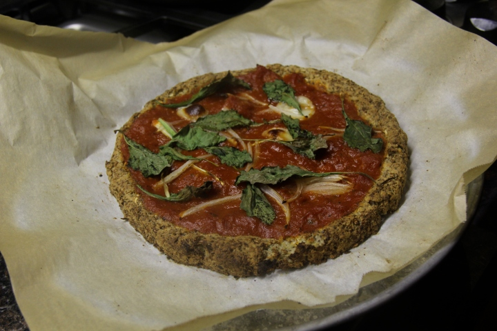 Crazy Cauliflower Crust Pizza
