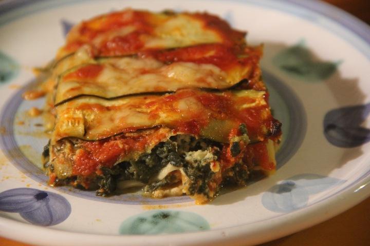 Work Week Lunch: Zucchini Lasagna