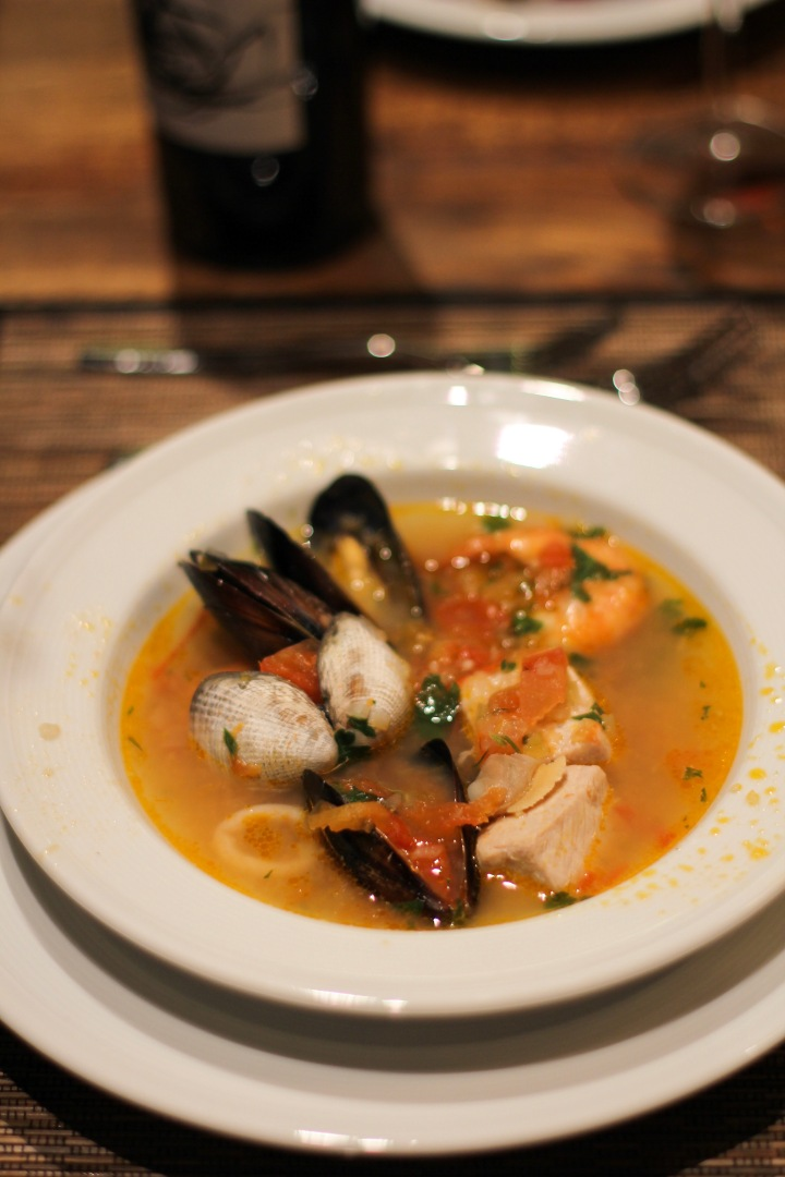 Bouillabaisse a la Californien (A French Inspired Seafood Stew)