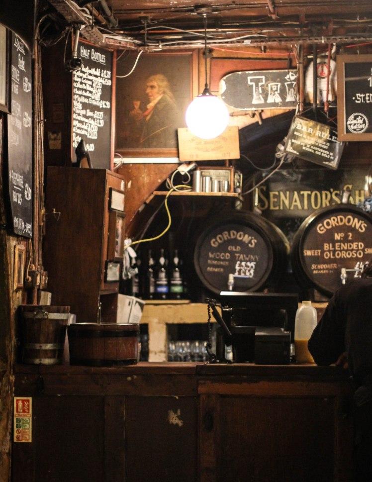 Gordon's Wine Bar, Covent Garden