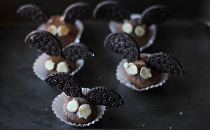Dark Chocolate Kahlua Ganache TruffleBats
